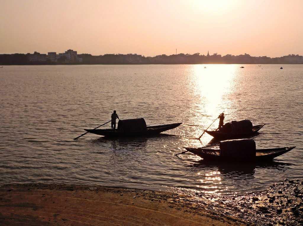 Ganges River, Barrackpore (Source)