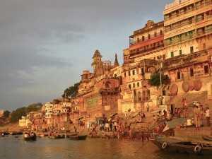 Ganga River, Varanasi (Source)