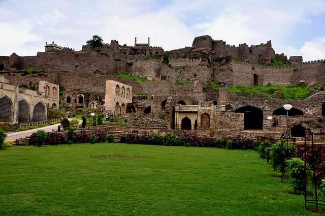 Golconda Fort, Hyderabad - best place in january in India