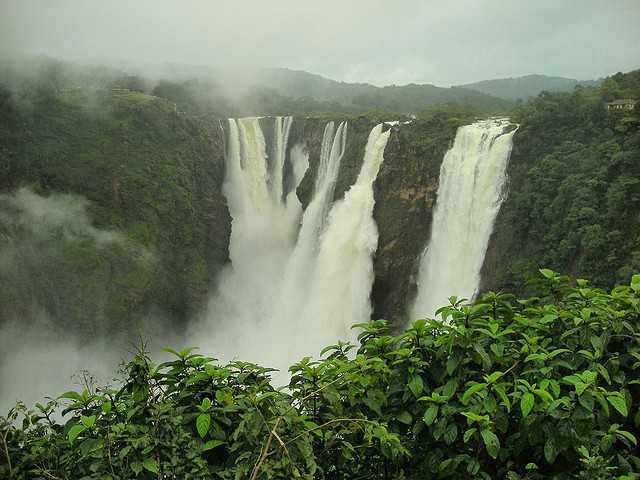 Jog Falls, places to visit in South India