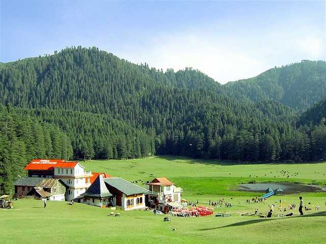 Khajhiar Meadows, short trip from delhi