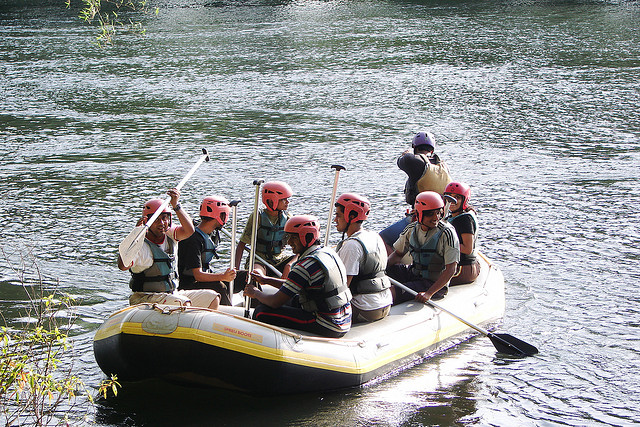 dandeli river rafting in monsoon near Bangalore