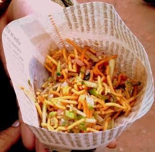 Ghoti Gorom, Princep Ghat, Kolkata Street Food