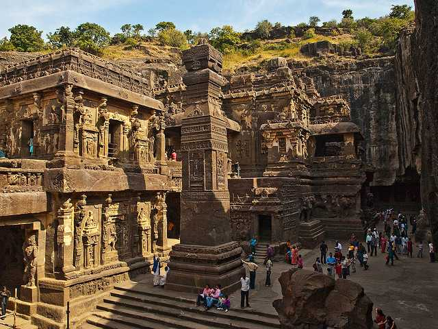 Ellora caves, monuments of India