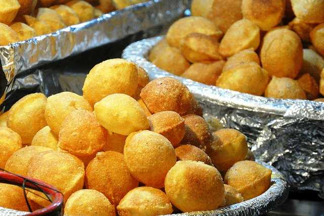 Gol Gappe - Street Food in Bangalore