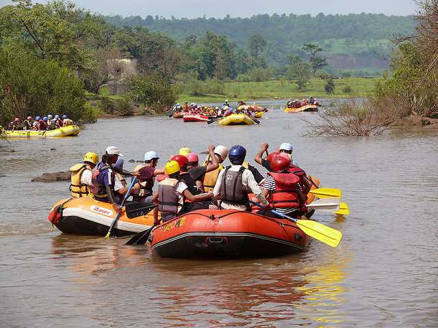 Rafting near Mumbai in Kolad