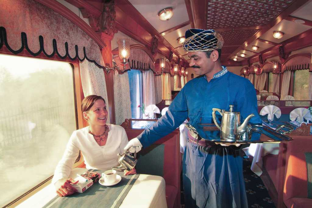 Indian Maharaja Railway Deccan odyssey