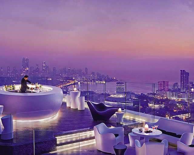 AER - Rooftop Bar, Nightlife in Mumbai
