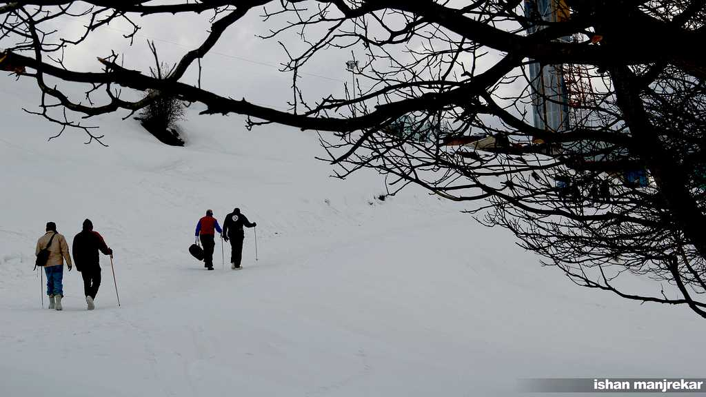 Auli - winter tourist places in India