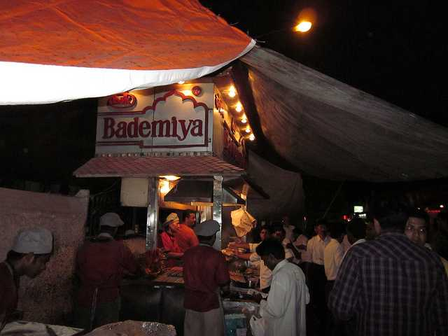 Bademiya - a popular hangout place in Mumbai