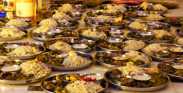 Bhog for Kolkata Durga Puja 2017 festival