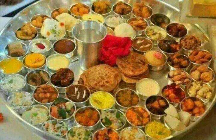 Chappan Bhog for Krishna janmashtami