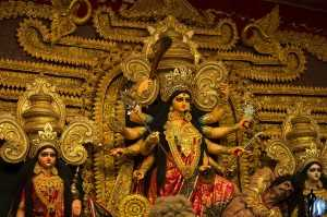 Durga Puja in Bengal (Source)