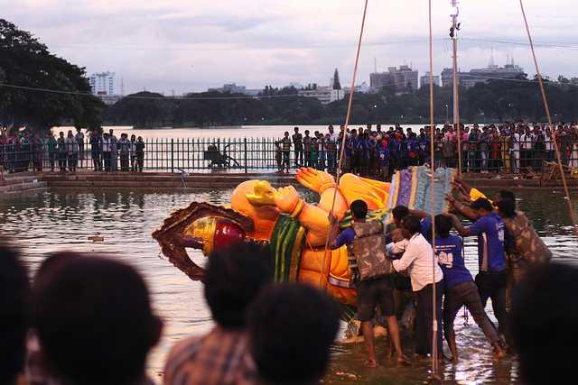 Visarjan. ganesh visarjan 2015 mumbai