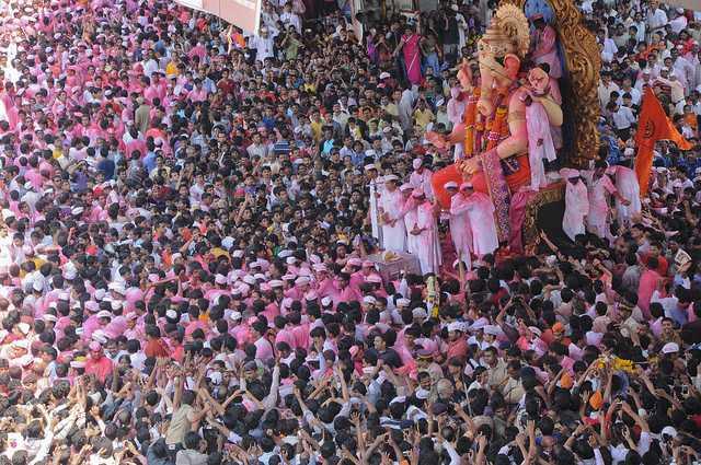 Lalbaugcha Raja, Ganesh Chaturthi Mumbai