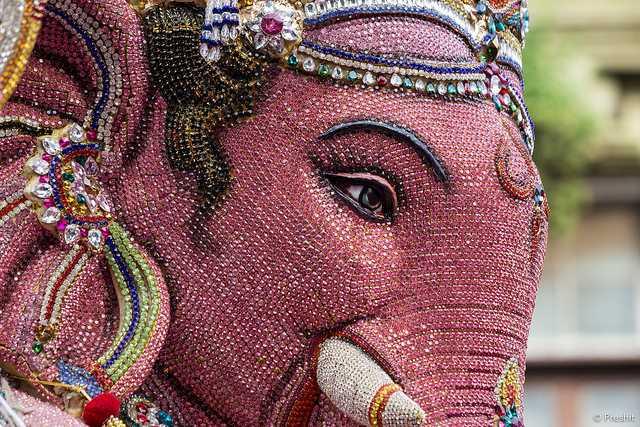 Ganeshji, Ganesh Chaturthi in Mumbai 2015