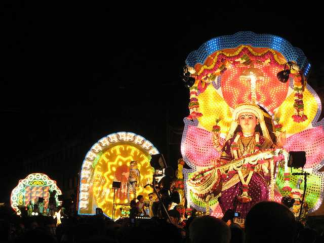 Ramleela performed during Navratri 2017 Dates