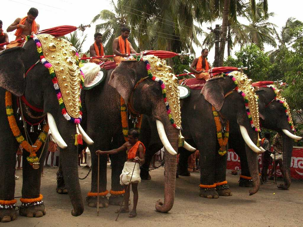 Thrissur-Kerala, places to visit in india in december