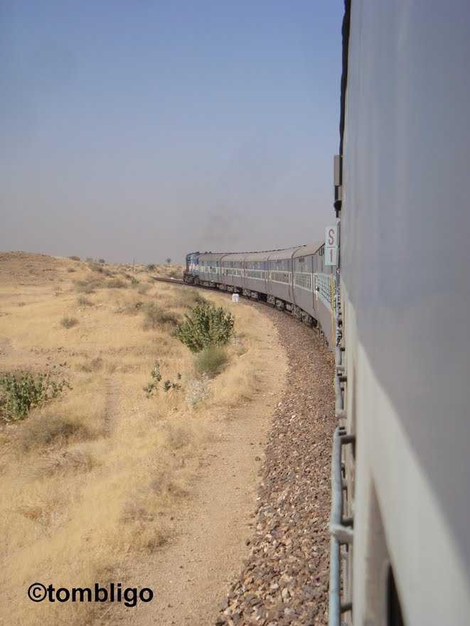Jaisalmer train Desert queen