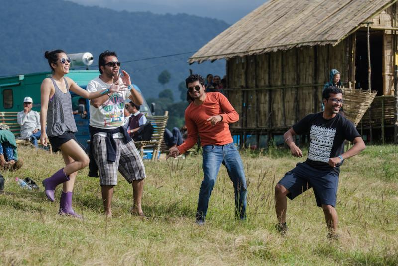 Ziro Music Festival , best places to visit in september in india