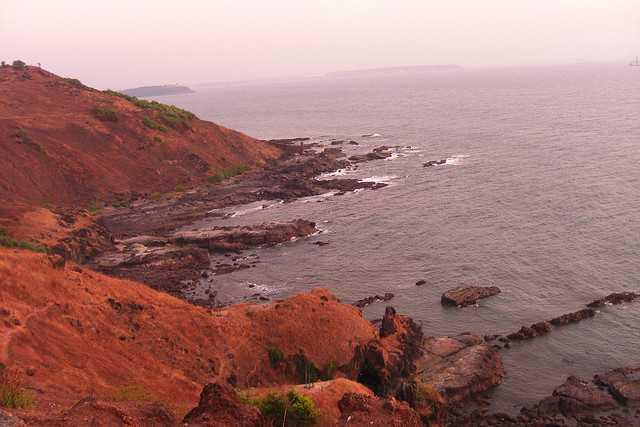 Goa rocky beach visit in december