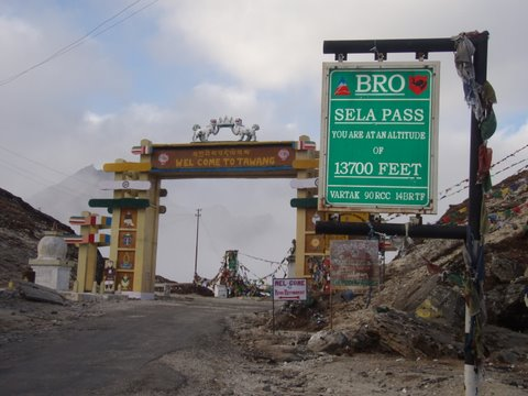 Guwahati to Tawang, best road trip in India