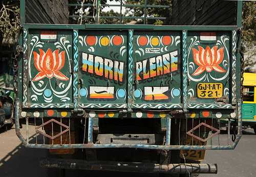 funny truck Indian Sign