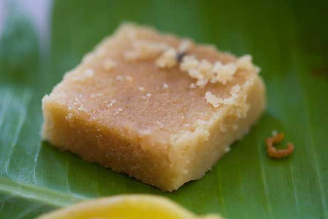 Mysore Pak, desserts in india
