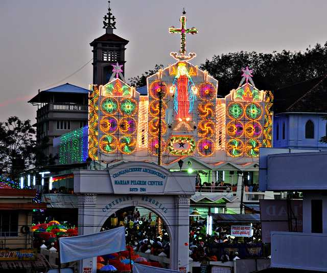 Christmas celebration in Kerala, Christmas in India