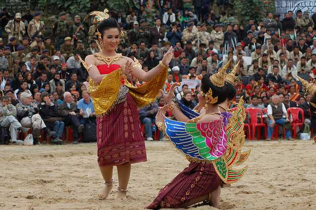 Hornbill Festival north east fair india