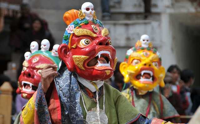 Hemis Festival Ladakh Fair Celebration in North India