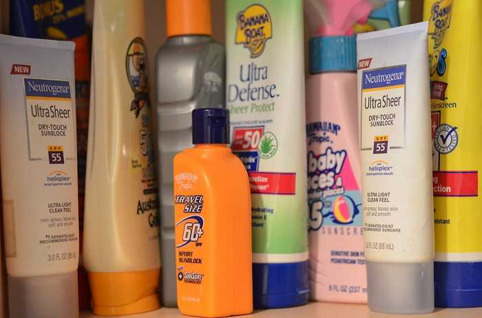 sunscreen lotion, Things to pack for a road trip