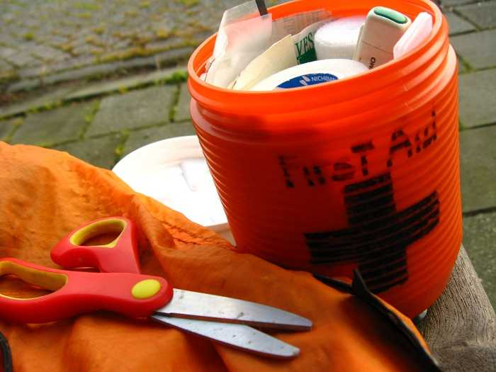first aid kit, road trip essentials checklist