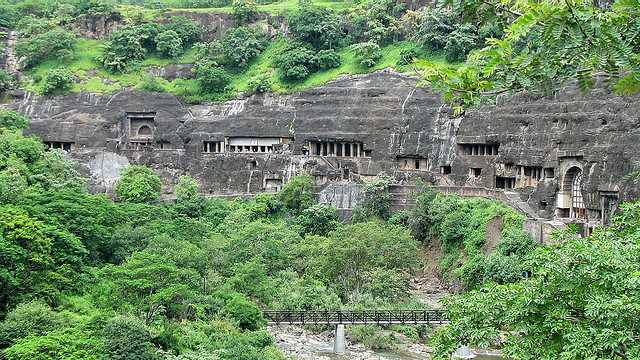 Ajanta Caves - architectural monuments of India