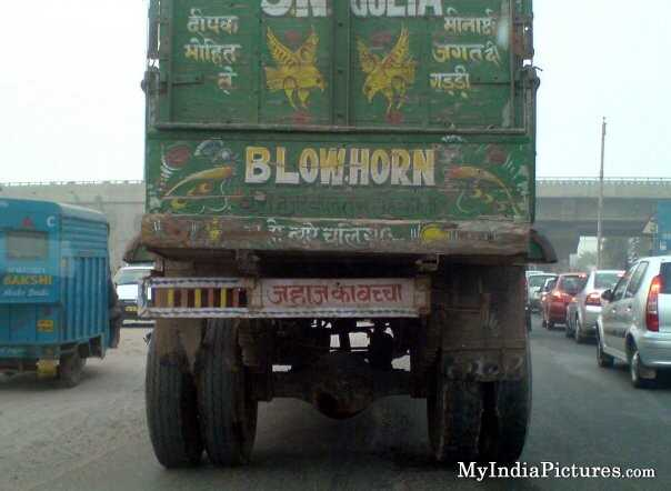 Hilarious Truck Designs You Come Across While Travelling On Indian