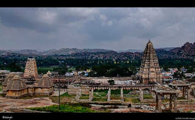 Hampi, place to visit near Bangalore in winters