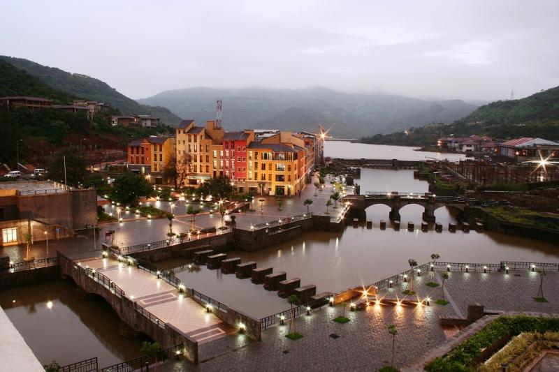 Lavasa at night, Destination weddings in India