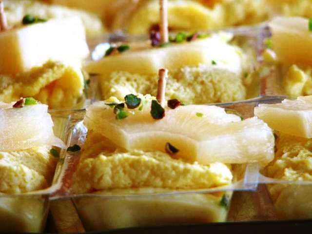 Pineapple Shondesh, desserts in india
