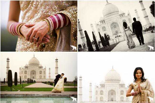 Destination wedding in India in Agra