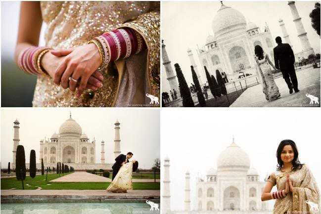 Destination wedding in India in Agra