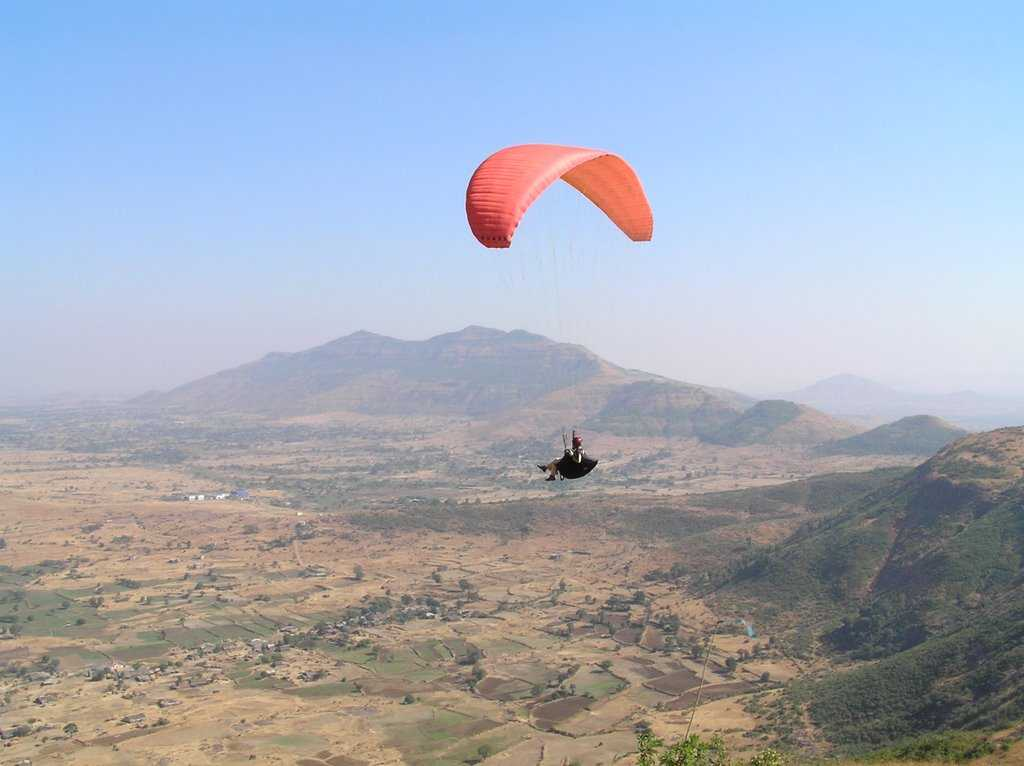 Kamshet paragliding long weekend getaways
