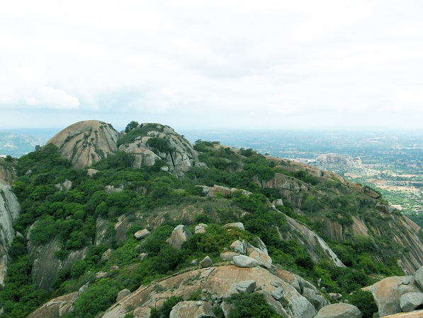 Savandurga, Places near Bangalore for Winter