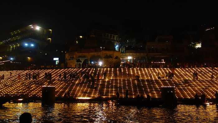 dev deepawali in varanasi  2015 dates festivals and lights