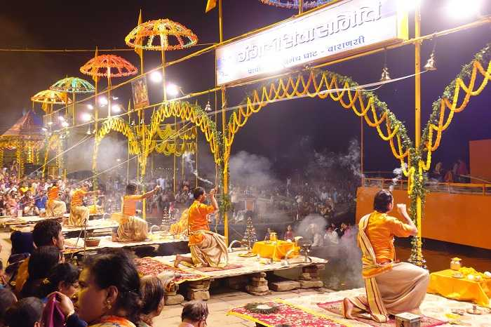 dev diwali in Varanasi 2017, dev deepawali