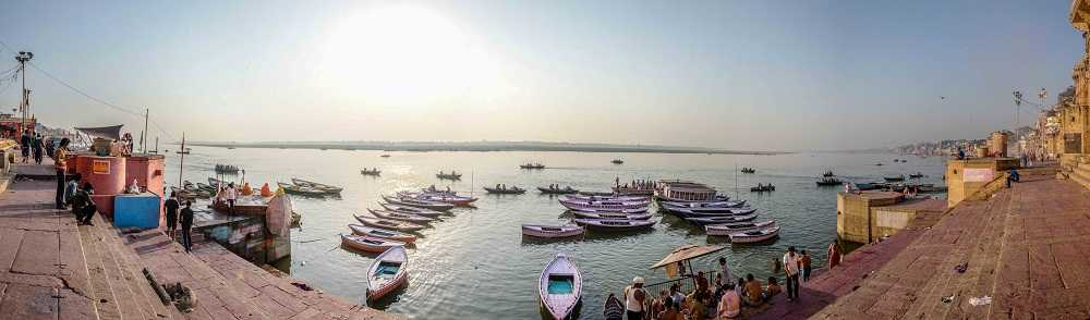 Varanasi ghats - Places to visit in Varanasi