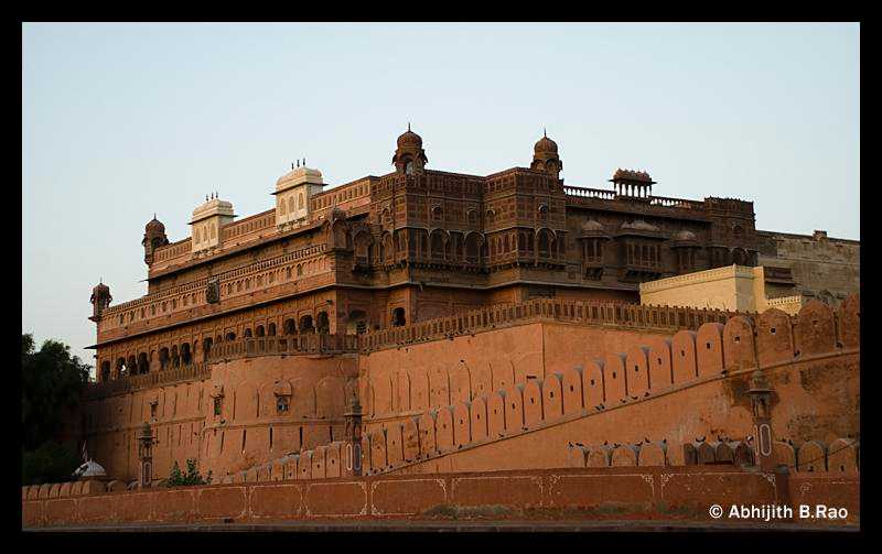 Bikaner Junagarh Fort, Forts in India