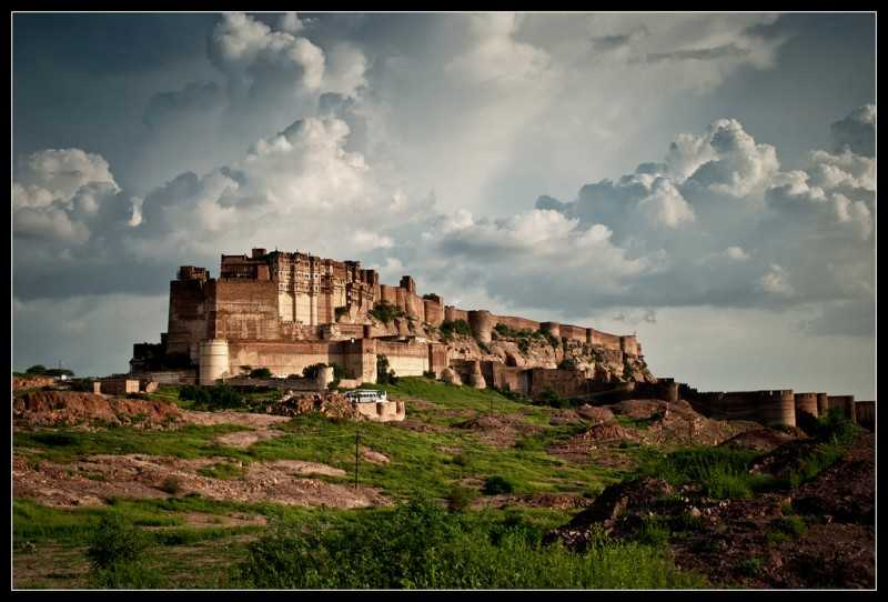 Mehrangarh, forts in India