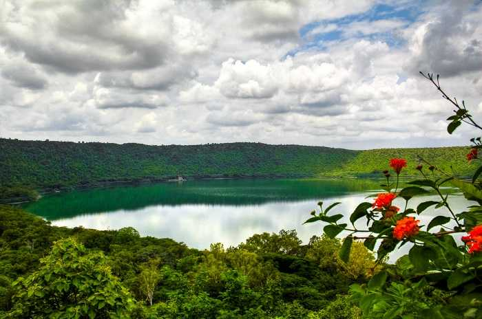 Lonar Crater Lake offbeat trip maharashtra india