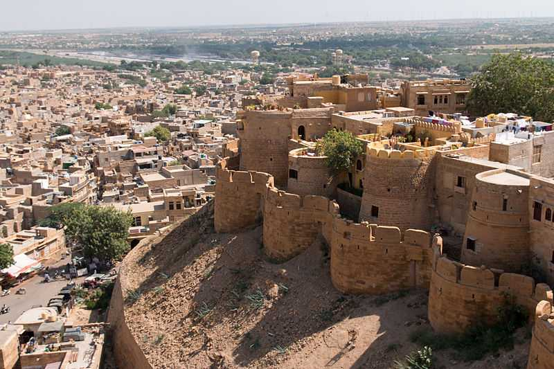 Jaisalmer fort, forts in India