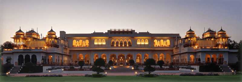 Rambagh Palace, Palaces in India